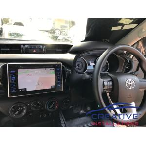 HiLux Integrated GPS Navigation System