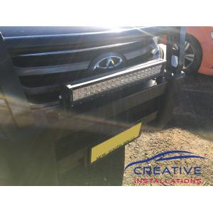 HiLux Dual Row LED Light Bar