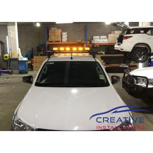 HiLux Emergency Warning Light Bar