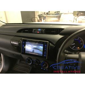 HiLux Integrated Reverse Camera