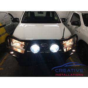HiLux IPF LED Driving Lights
