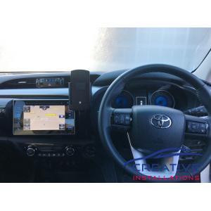 HiLux iPhone X Car Holder