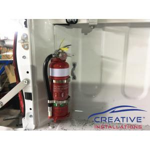 HiLux Fire Extinguisher
