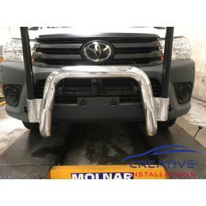 HiLux Front Parking Sensors