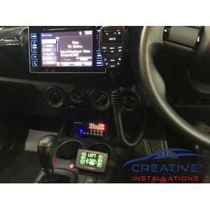 HiLux GME XRS330C UHF CB Radio