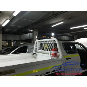 HiLux IONNIC 1275mm Minebar w/ Nordic LED Work Lights