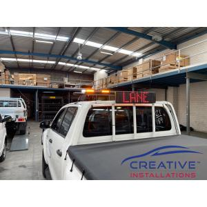 HiLux Code 3 M5 LED Message Board