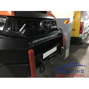 HiLux Bull Bar Front Parking Sensors