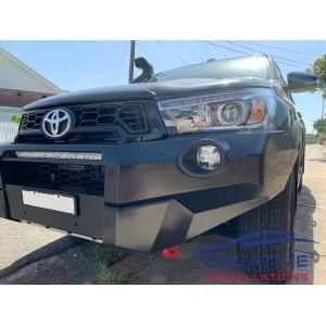 HiLux Rugged Front Parking Sensors