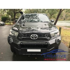 HiLux Rugged X Front Parking Sensors
