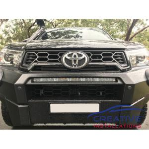 Rugged X Front Parking Sensors