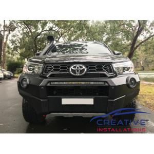 HiLux Rugged X Parking Sensors