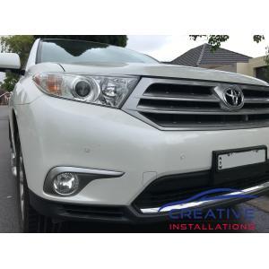 Kluger Front Parking Sensors