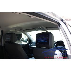 Kluger Headrest DVD Players