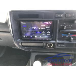 LandCruiser Kenwood DMX8020S Car Stereo
