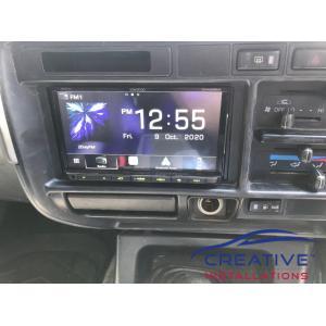 LandCruiser Kenwood DMX8020S Car Radio