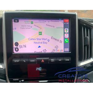 LandCruiser Apple CarPlay Upgrade