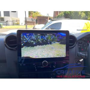 LandCruiser Kenwood Reverse Camera