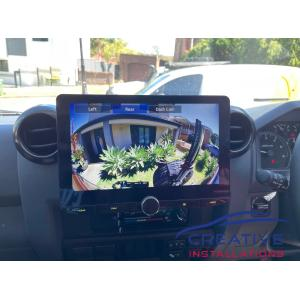 LandCruiser Kenwood HD Reversing Camera