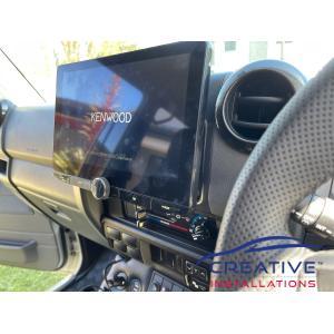 LandCruiser Kenwood DMX9720XDS Car Stereo