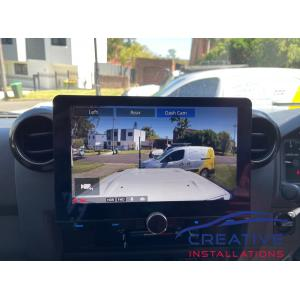 LandCruiser Kenwood Dash Camera