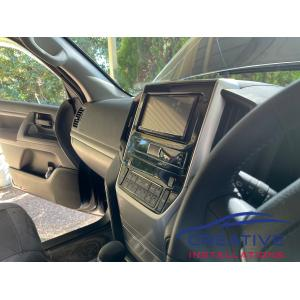 LandCruiser Car Stereo System Upgrade