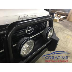 LandCruiser 70 IPF 900 Driving Lights