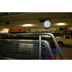 LandCruiser LED work lights