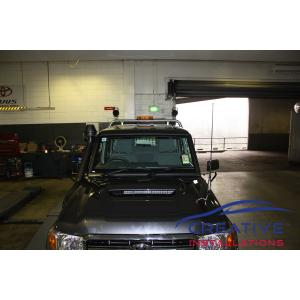 LandCruiser LED work lights