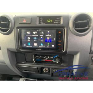 LandCruiser 79 Kenwood DDX920WDABS Head Unit
