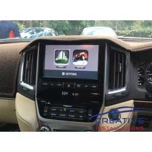 LandCruiser Integrated GPS Navigation System