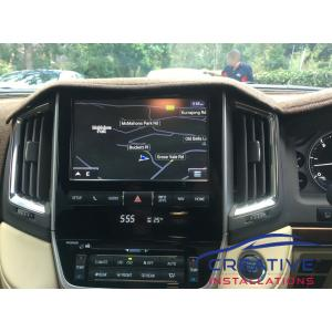 LandCruiser Sahara GPS Navigation System