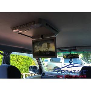 Prado Roof DVD player