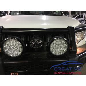 Prado Great White 220 GWR5243 LED Driving Lights