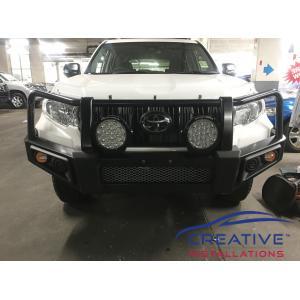 Prado Great White Driving Lights