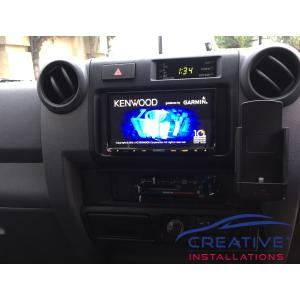 LandCruiser iPhone 5 Car Holder