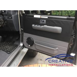 "LandCruiser Kenwood 6.5"" speakers"