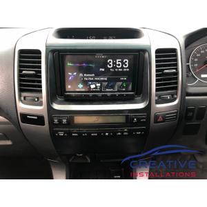 Prado Kenwood Car Radio