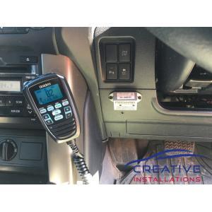 Prado UH9080 Uniden UHF CB Radio