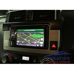 Prado Kenwood GPS Navigation System