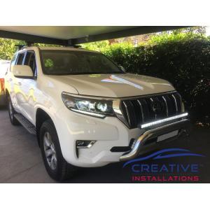 "Prado 2019 Maxi Trac 32"" Single Row LED Light Bar"