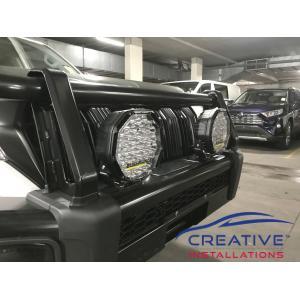 Prado Bushranger Driving Lights