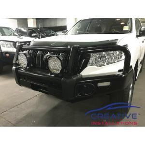 Prado Bushranger Spot Lights