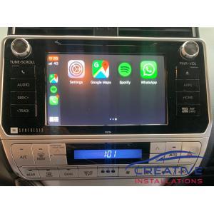 Prado Apple CarPlay Upgrade