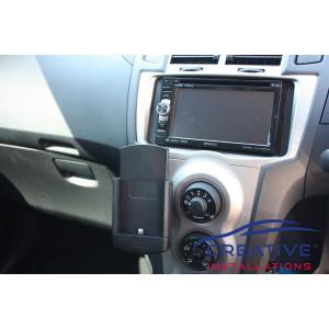 Yaris car phone holder