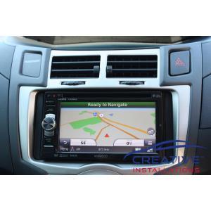 Yaris GPS Navigation System