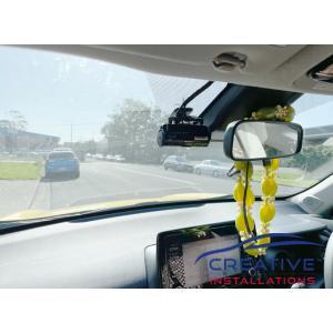 Yaris Cross IROAD X5 Dash Cams