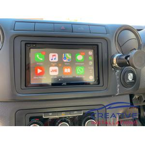 Amarok JVC Car Radio