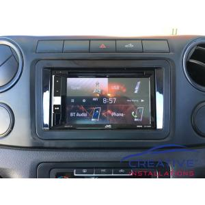 Amarok JVC KW-V250BT Head Unit