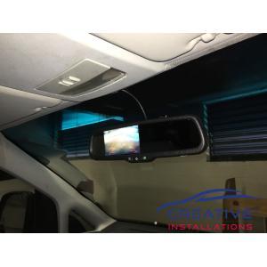 Caddy Reverse Mirror Camera